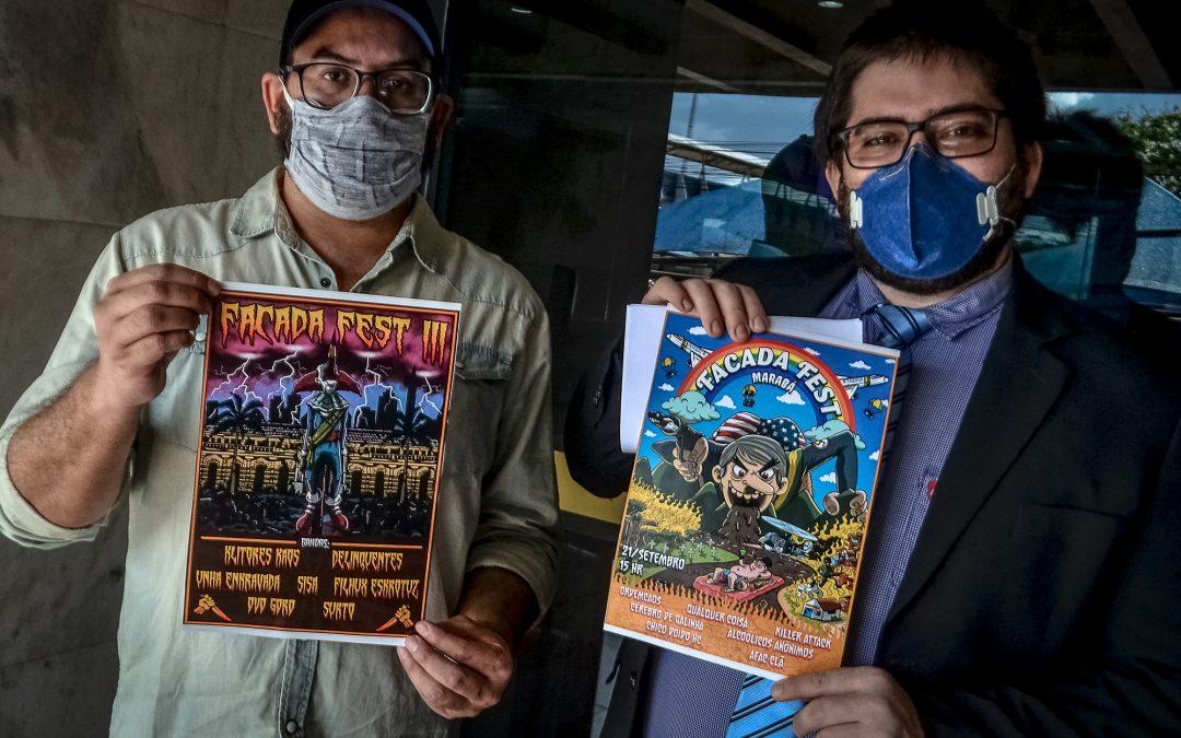 Há dois anos, o FACADA FEST trava luta na justiça contra a censura de Bolsonaro