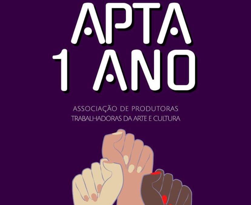 APTA – Associação de Produtoras Trabalhadoras da Arte e Cultura completa seu primeiro ano ampliando e nacionalizando a entidade